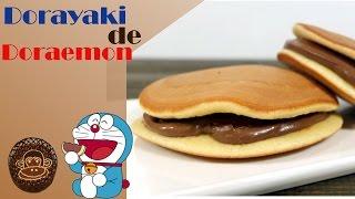 Dorayakis rellenos, receta preferida de Doraemon.
