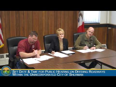Hardin County Board of Supervisors Meeting 11-21-2018
