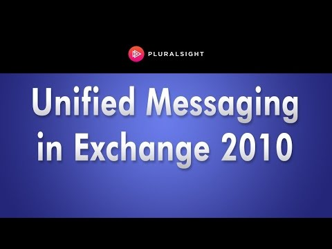Unified Messaging in Microsoft Exchange Server 2010 - YouTube
