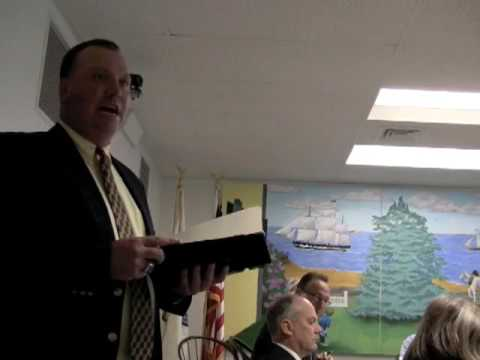 Duxbury Board of Selectmen: Cushing and Donato exc...