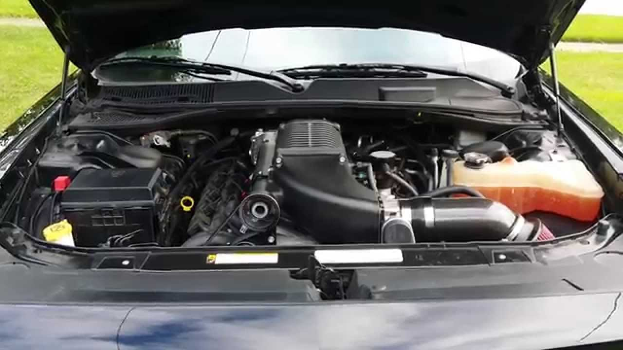 2 9 whipple supercharger installed in my 5 7 dodge challenger youtube