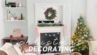 Tips to watch BEFORE you decorate for Christmas 🎄☃️ How I decorated my Living room