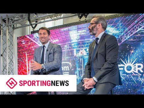 Eddie Hearn talks 'billion-dollar deal' between Matchroom and Perform