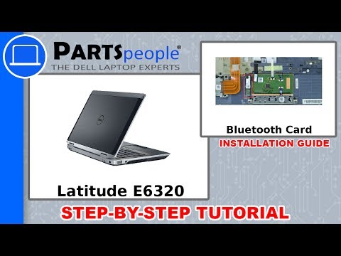 Dell Latitude E6320 (P12S001) Bluetooth Card How-To Video Tutorial