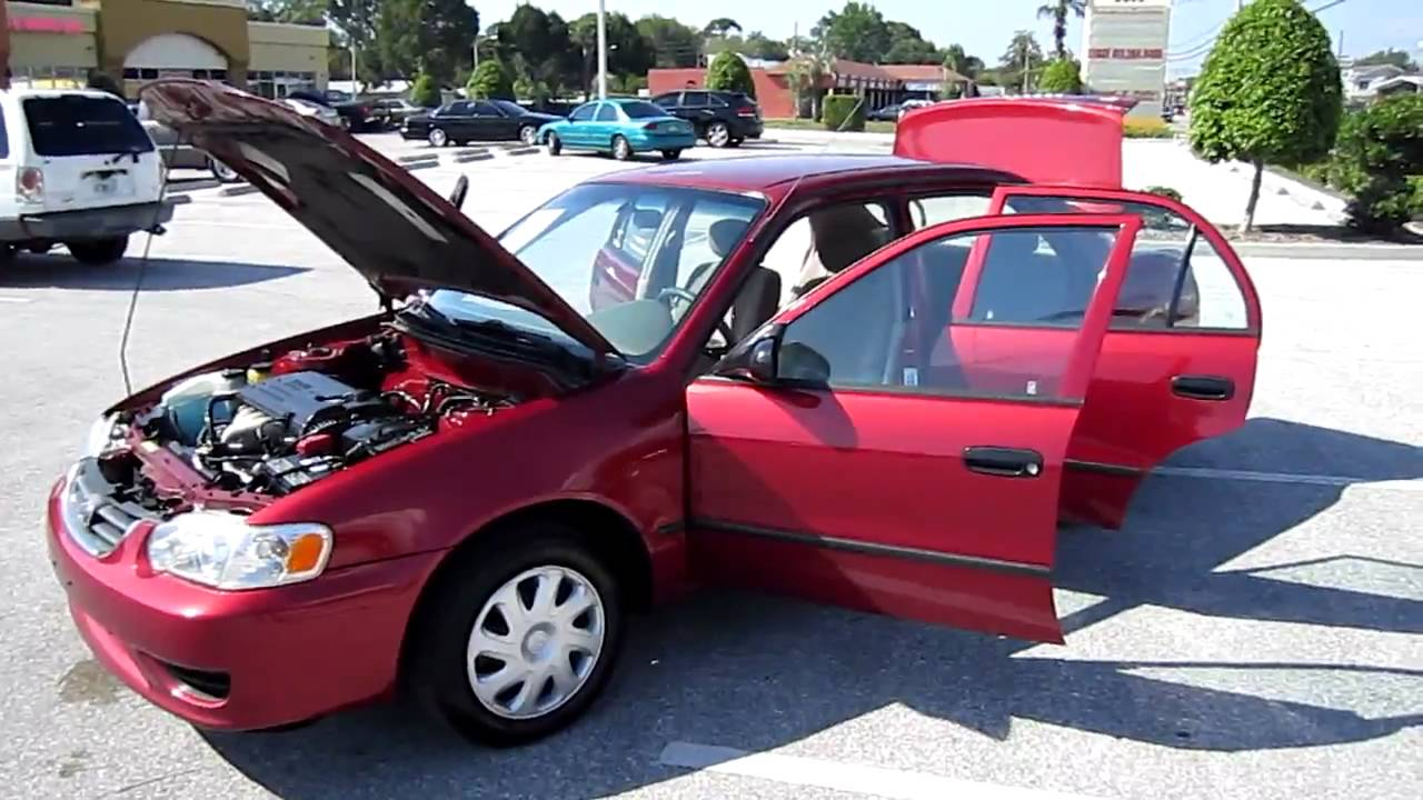 SOLD 2001 Toyota Corolla CE Meticulous Motors Inc Florida For Sale