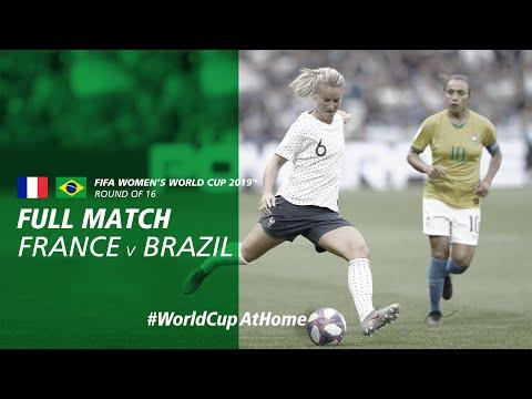 #WorldCupAtHome | France v Brazil (France 2019)