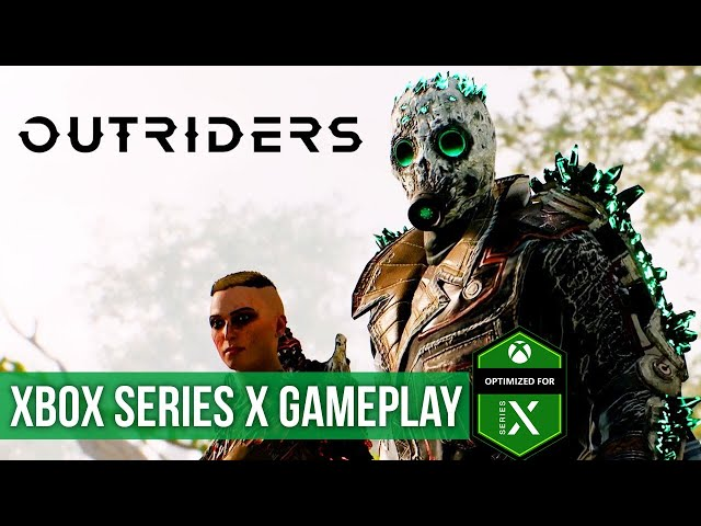 Outriders - Gameplay (Xbox Series X) HD 60FPS