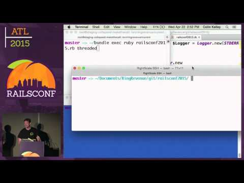 RailsConf 2015 - High performance APIs in Ruby using ActiveRecord and Goliath