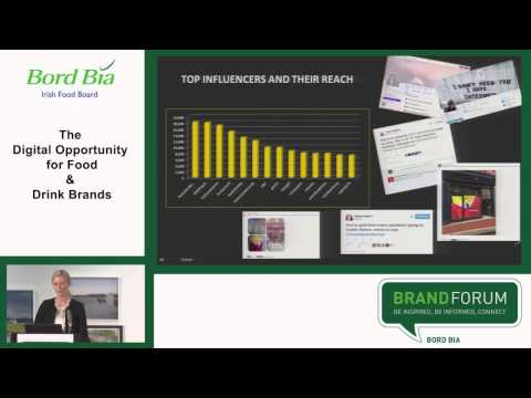 Brand Forum Digital Opportunity for Food & Drink Brands - Alina Uí Chaollaí, Largo Foods