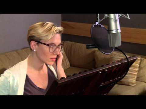 "The Jungle Book: Scarlett Johansson ""Kaa"" Behind the Scenes Voice Recording"