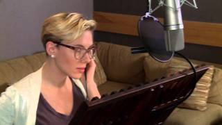 the jungle book scarlett johansson kaa behind the scenes voice recording