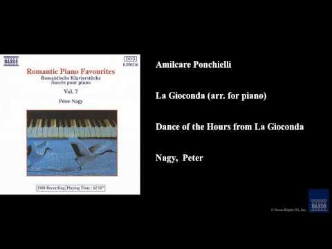 Amilcare Ponchielli, La Gioconda (arr. for piano), Dance of the Hours from La Gioconda