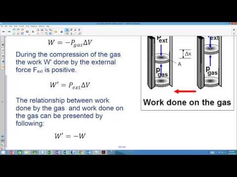 video 9 work in thermodynamics