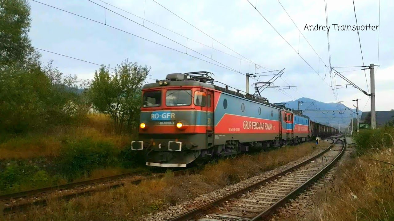 Trenuri / Trains in Câmpulung Moldovenesc (Bucovina - Romania)