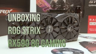 unboxing Asus ROG Strix Radeon RX 560 Evo Gaming 4GB