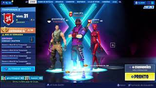 FORTNITE-SEASON X E SKIN VESPA OSSEA/towards 700 SUBS/PS4! Japa Gamer Play