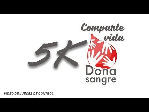 Comparte Vida Dona Sangre 5k - Video de Control