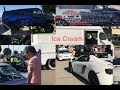 McLaren runs into Honda/traffic, police invade, & more @ Cars and Coffee Dallas August 2016 vlog