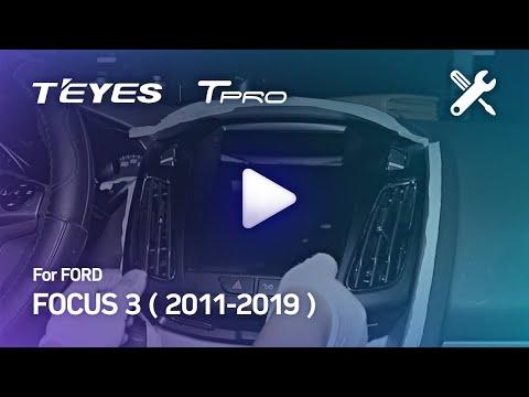 Видео по монтажу головного устройства в автомобиль Ford Focus 2012