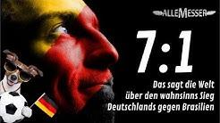 Deutschland-Brasilien 7:1 Internationaler Pressespiegel GERBRA