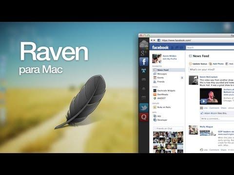 Raven, un refrescante navegador gratuito para Mac