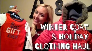 Baby Boy Winter Coat & Holiday Clothing Haul
