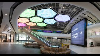 Manchester Airport's New Terminal 2 Fly-Through - Manchester Airport Transformation Project