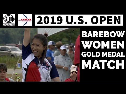 2019 U.S. Open: Barebow Women Gold Medal Match