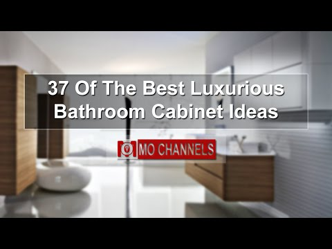 37 Of The Best Luxurious Bathroom Cabinet Ideas