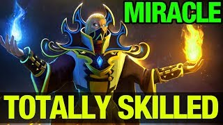 MIRACLE- IS TOTALLY SKILLED-  INVOKER - Dota 2