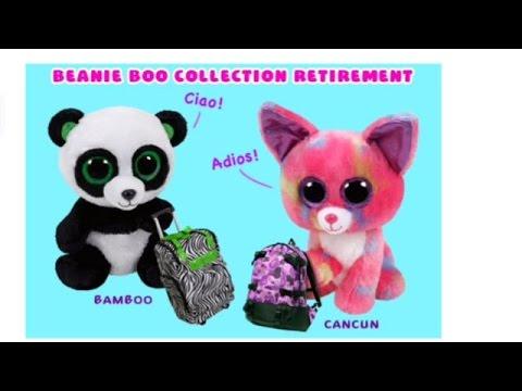 6a96ac057a1 Beanie Boo Retirement - YouTube