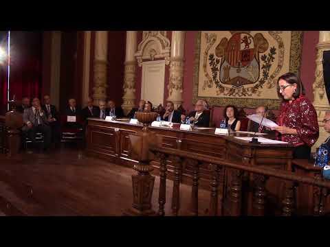 Ingreso de Chus Pato na Real Academia Galega