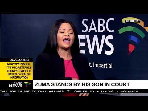 Chriselda Lewis on Duduzane Zuma's court case