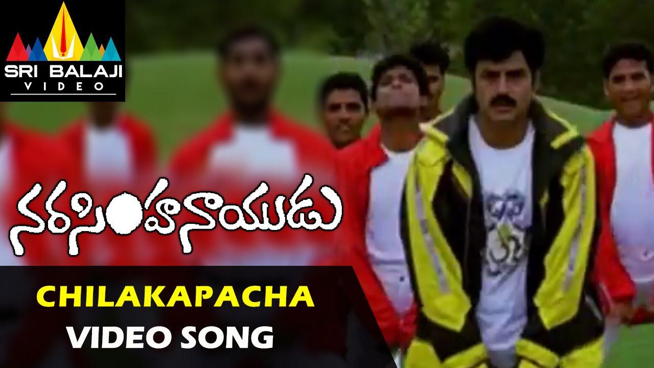 Download Narasimha Naidu Songs   Chilakapacha Koka Video Song   Balakrishna, Simran   Sri Balaji Video
