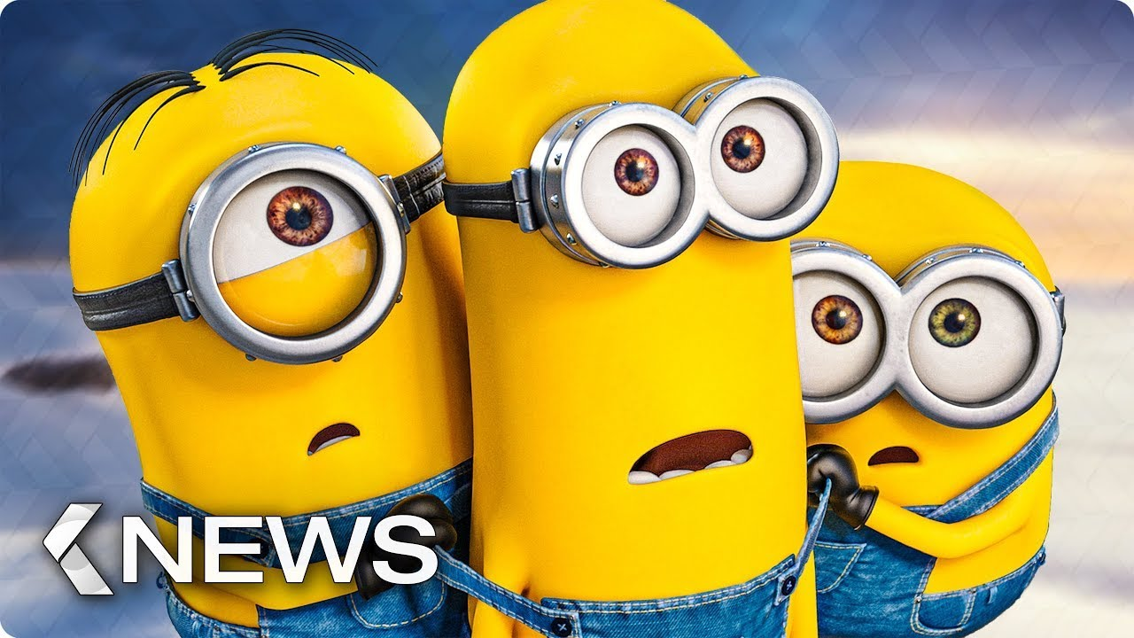 Download MINIONS 2 THE RISE OF GRU  Minions Rides Dragon  Trailer NEW 2021 Animated Movie HOLLYWOOD TRAILER