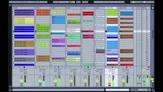 Ableton Live set + Uc33 techno 2014