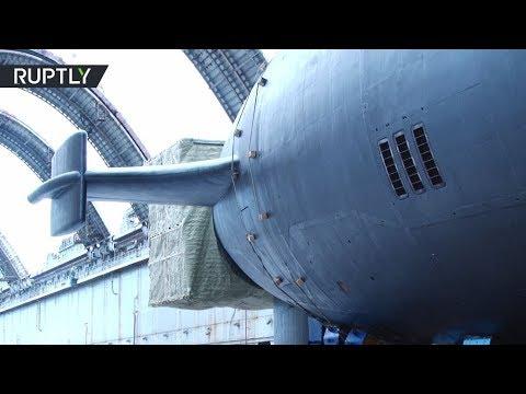 عرض أحدث غواصة نووية روسية  - نشر قبل 9 ساعة