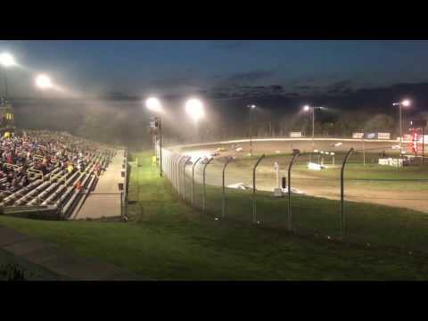 Eagle Raceway Ice Breaker 04/15/17 Modified B Feature Part1