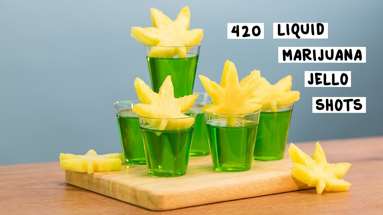 420 Liquid Marijuana Jello Shots