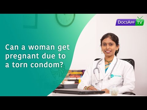 Can a Woman get pregnant due to a Torn Condom? #AsktheDoctor