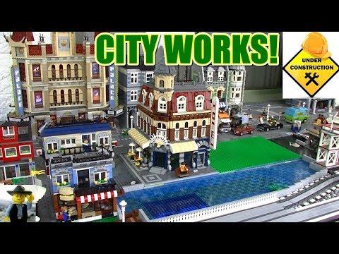 LEGO City Under Construction Part 2 August 2017