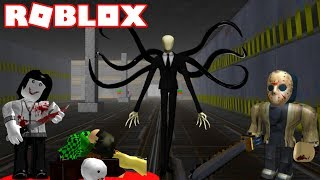 ROBLOX SURVIVE AND KILL THE KILLERS IN AREA 51!! FOUND THE SECRET TUNNEL AND THE ALIEN!!