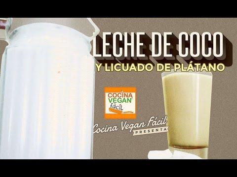 Leche de coco fresco - Cocina Vegan Fácil (Reeditado)