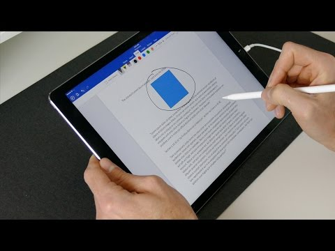 Apple Pencil with Microsoft Office!