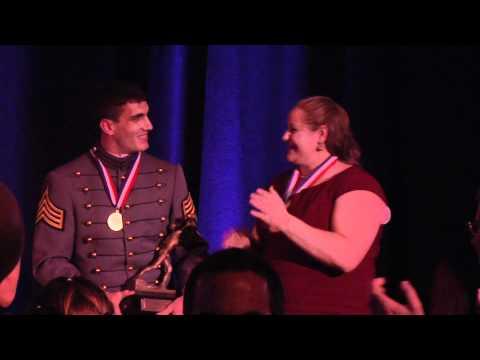 Army Athletics: Andrew Rodriguez at the 2011 James E. Sullivan Award Ceremony