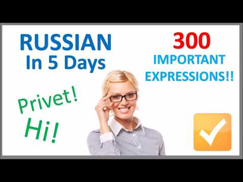 Learn Russian in 5 Days - Conversation for Beginners