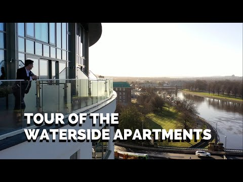 PROPERTY TOUR of the NEW Waterside Apartments at Trent Bridge with Incredible Views!