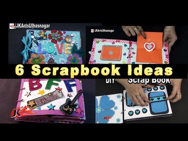 6 Scrapbook Ideas | JK Craft Ideas 102