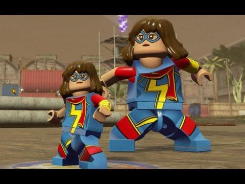 LEGO Marvel's Avengers - Ms. Marvel (Kamala Khan) Unlock Location + Free Roam (Character Showcase)