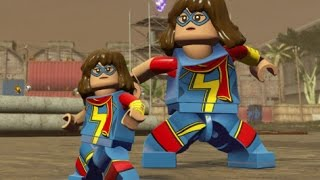 LEGO Marvel's Avengers - Ms. Marvel (Kamala Khan) Unlock Location + Free Roam (Character Showcase)